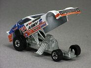 Army funny car open