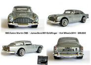 Aston Martin DB5 Goldfinger Hot Wheels 200-250 2014