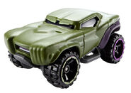 BDM76 Hot Wheels Marvel Character Cars - Hulk Marvel Cars Hulk XXX 1