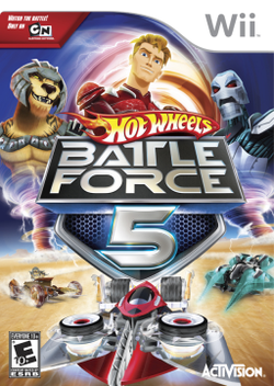250px-Hot Wheels Battle Force 5 cover