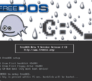 How to install FreeDOS in QEMU