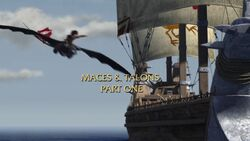 Maces and Talons Part I title card