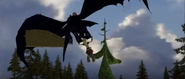 Astrid carried ny Toothless CGI 2