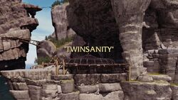 Twinsanity title card