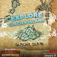 Glacier Island Explore Map