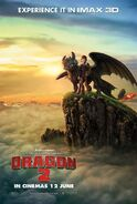 HTTYD2 IMAX Poster