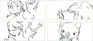 Hiccup Toothless Storyboard 2