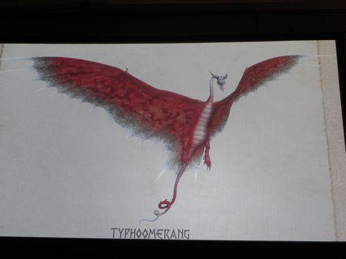 Как нарисовать тайфумеранг