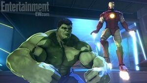 Ironman hulk