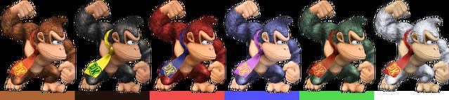 File:Donkey Kong Palette (SSBB).png