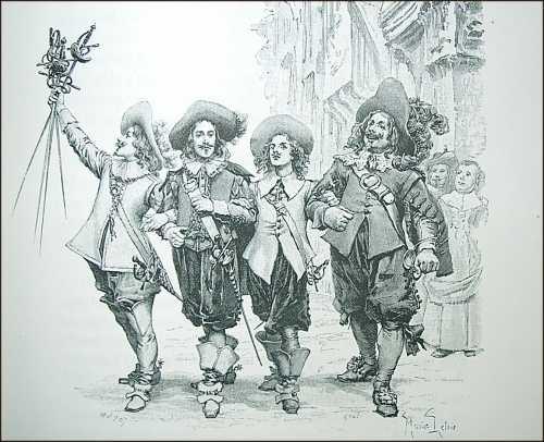 3 Musketeers Symbol