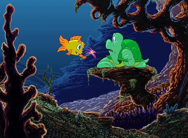 Snappy turtle humongous entertainment games wiki for Turtle fish games