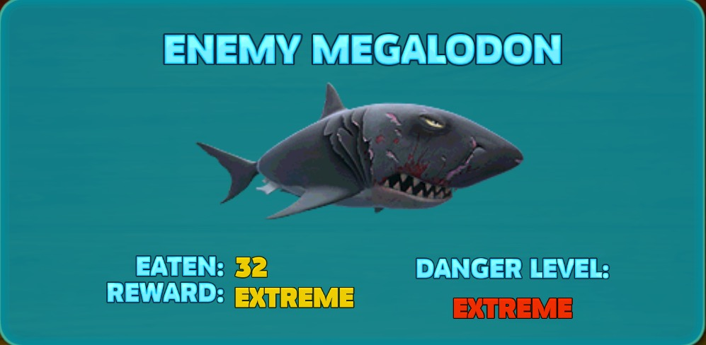 Enemy Megalodon | Hungry Shark Wiki | FANDOM powered by Wikia