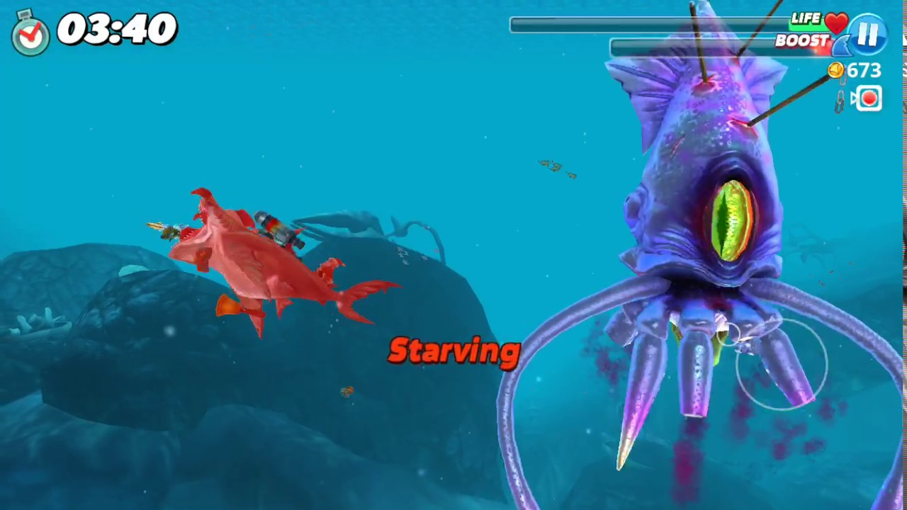 Colossal Squid | Hungry Shark Wiki | FANDOM powered by Wikia