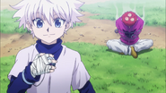 Killua beats Sub