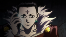 43 - Chrollo talking to Uvogin