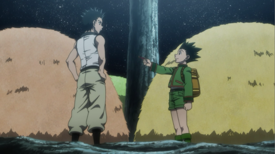 does gon meet ging in the anime film