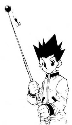 Gon's fishingrod