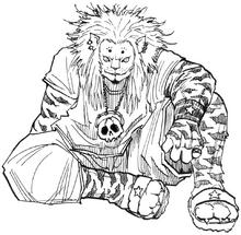 Leor sitting