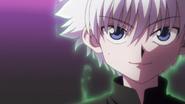 Killua's aura