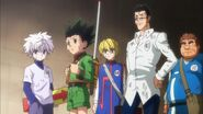 Passing the 3rd exam HxH 2011