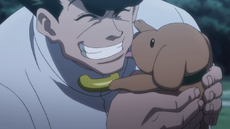 Knuckle and a puppy