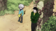 24 - Killua and Illumi in flashback