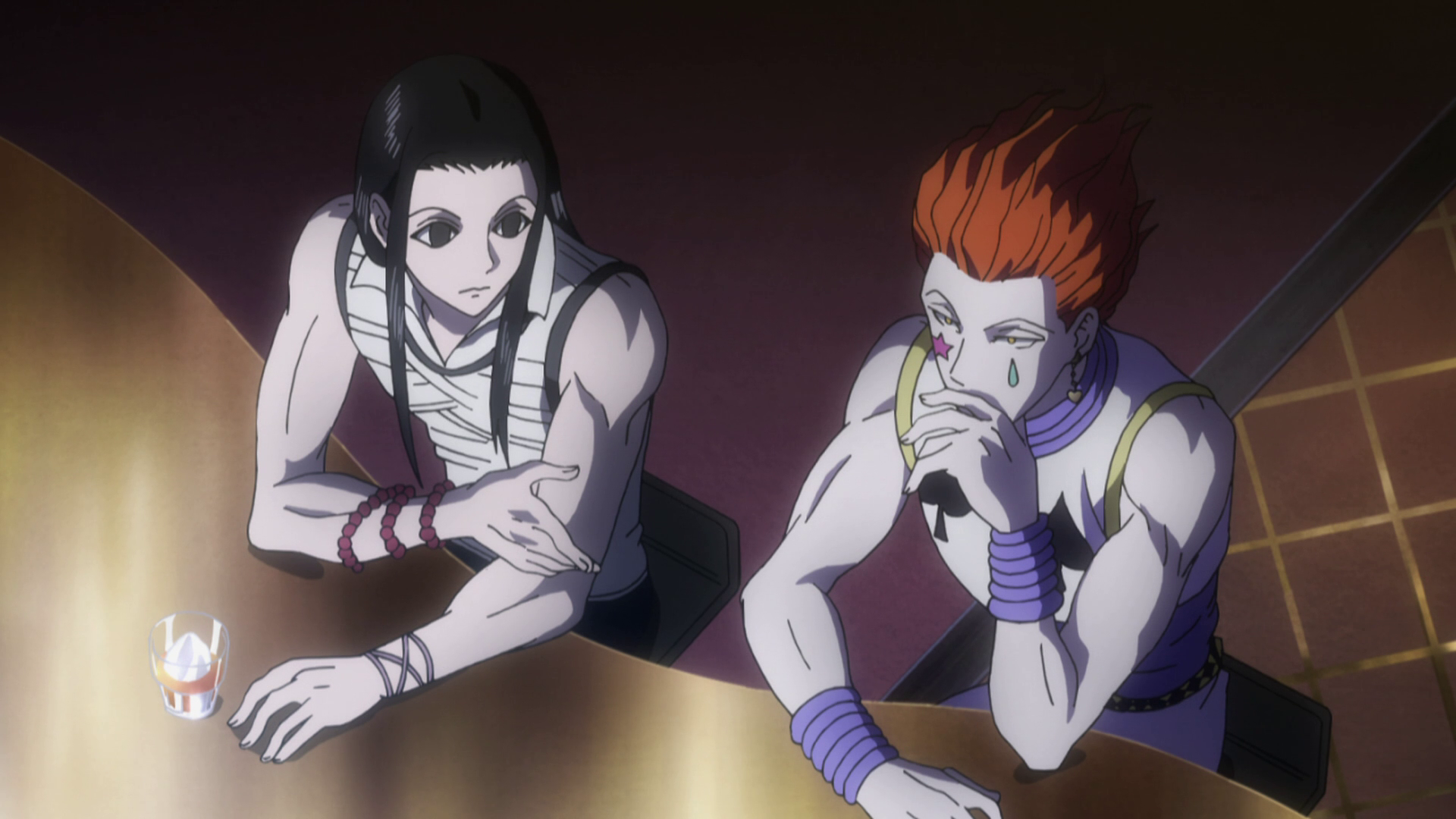 Image result for Hunter x Hunter illumi and hisoka