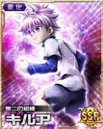 Killua card 14