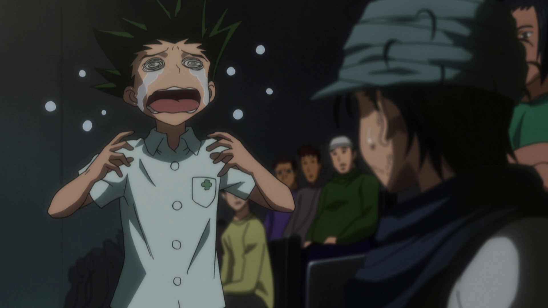 does gon meet ging in the anime