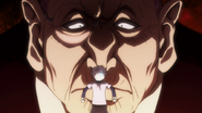 Tsubone scaring Killua 2