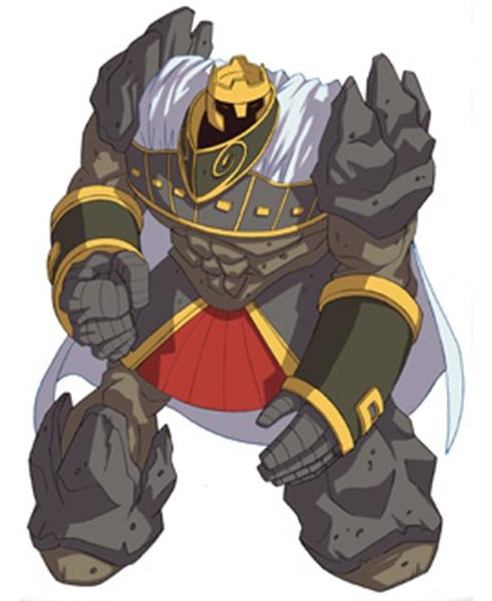 Huntik Titans Metagolem