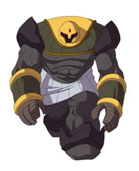 Huntik Titans Undergolem