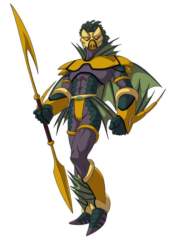 Huntik Titans Caliban_Ocean_Warrior