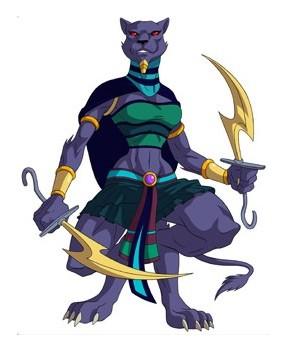 Huntik Titans Sekhmet