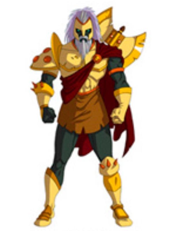 Huntik Titans Palamedes