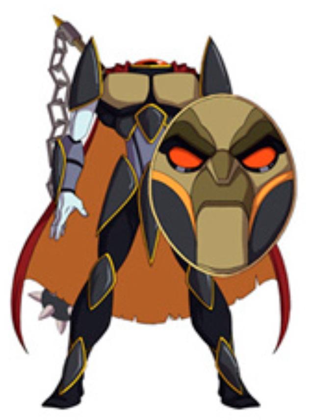 Huntik Titans Dullahan
