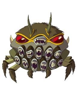 Huntik Titans Trapfeaster