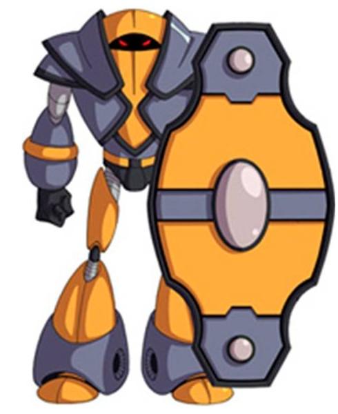 Huntik Titans Ironsquire