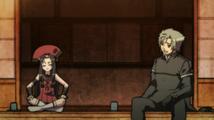 Yukimura and Muneakira talking