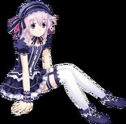 Neptune cosplaying as Tiara