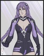 Request purple heart by milkywayka-d5jaicw