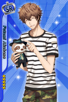 (Phantom Thief vs Police Scout) Futami Akabane SR