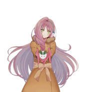 (Snowy Day Scout) Kokoro Hanabusa SR Transparent