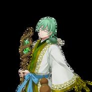 (God of fortune Scout) Shiki Amabe UR Transparent