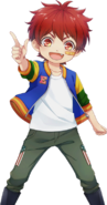 (Kiss me HERO!) Enju Hayama N Transparent
