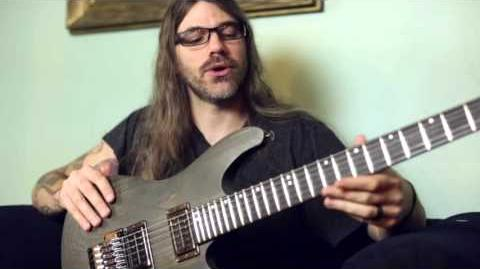 Paul Waggoner on his Ibanez PWM100 signature guitar