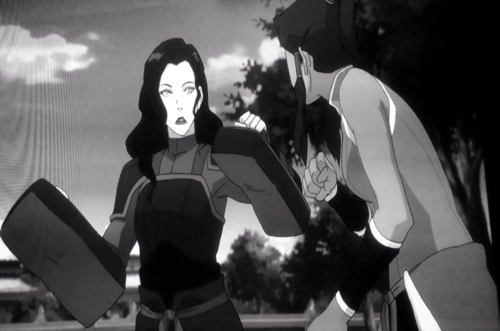 File:Korra and asami training.png