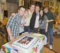 Noah Munck's 15th b-day pic with cast icarly noah bday 04HR, 05-03-11