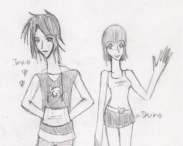 File:Jinx and Devina Humanized by Hihi Sama.jpg